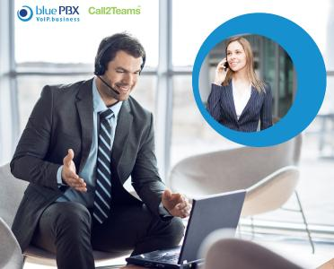 bluePBX kooperiert mit Call2Teams