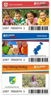 Überbrückt auch Kreisgrenzen: Sodexo Bildungskarten in Ostholstein, Schleswig-Flensburg und im Kreis Segeberg