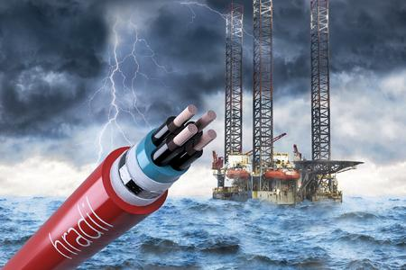 The new Hradil HB44® offshore control cables can effectively prevent zone entrainment within the cable