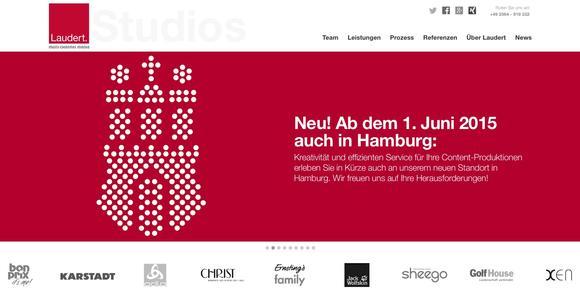 Laudert-Studios eröffnen zusätzlichen Standort in HH