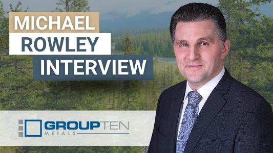 Group Ten-CEO Michael Rowley; Foto: axinocapital