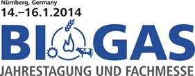 BIOGAS 2014 logo