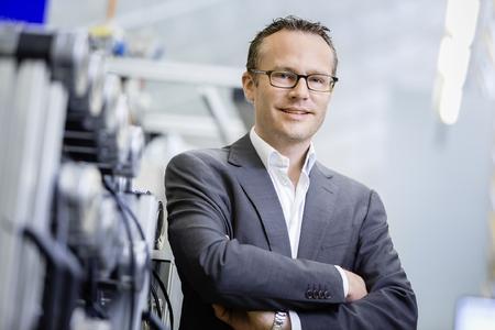 Marc Alber folgt seinem Vater als neuer Geschäftsführer Technik bei der GEZE GmbH. Foto: GEZE GmbH