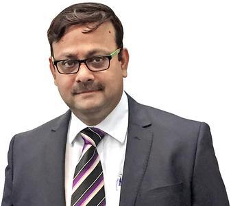 Der neue Geschäftsführer Herr Sudeep Bhattacharjee / © manroland web systems