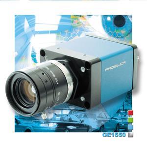 Prosilica GE1650 GigE Vision Camera: 2-Megapixel Resolution