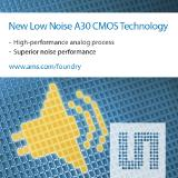 ams' new High Performance Analog technology A30 offers superior noise performance
