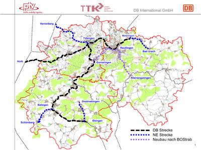 Leistungsfähige Regional-Stadtbahn Neckar-Alb geplant