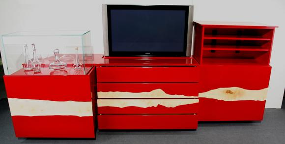 Flatlift TV Lift sideboard fully extended