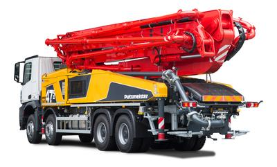 Putzmeister will reveal the new BSF 47-5 at the Bauma