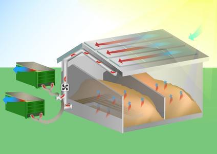 hackschnitzeltrocknung mit solarluft lohnt sich grammer solar gmbh pressemitteilung. Black Bedroom Furniture Sets. Home Design Ideas