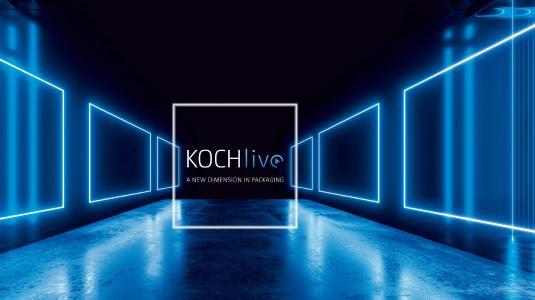 Die erste virtuelle Messe von KOCH Pac-Systeme