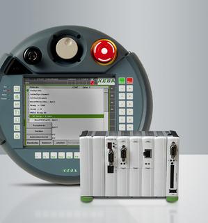 KeMotion-Steuerung mit KeTop-Bedienterminal T50