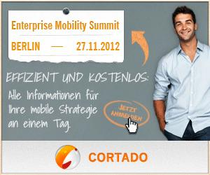 Der Cortado Enterprise Mobility Summit 27.11.2012, Berlin