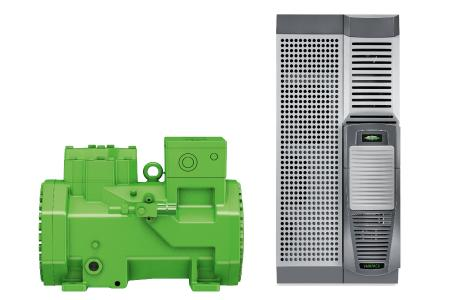 Highly efficient and with proven operating reliability – BITZER CKH2 compressors in connection with VARIPACK frequency inverters