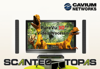 Cavium Introduces PureVu-3D, the World's First Standards Based, Low Latency 3D Wireless Display Solution