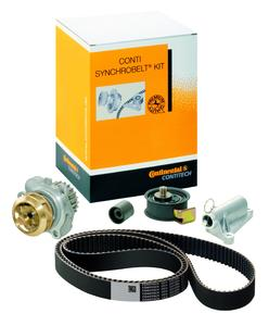 Water pump kit: The ContiTech Power Transmission Group has expanded its range of timing belt and water pump kits, (Photo: ContiTech)