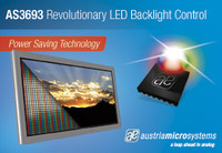 austriamicrosystems LED driver ICs power LG Electronics new LED backlit TVs shown at CES