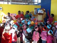 Crown Relocations Johannesburg shows support for the Spring of Education program on Nelson Mandela's birthday
