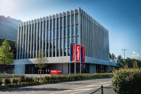 Hilti Hauptsitz in Schaan