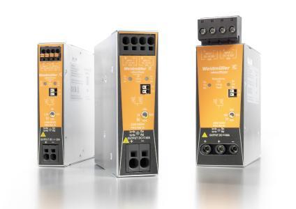 Weidmüller Redundanzmodule PRO RM zur Entkopplung von parallel geschalteten Schaltnetzgeräten: Redundante Stromversorgung für höchste Anlagenverfügbarkeit.