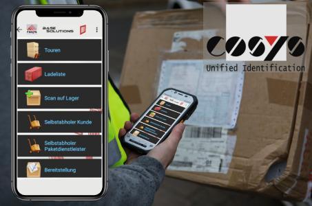 Mobile Software für Verladung, Auslieferung und Lademittelverwaltung