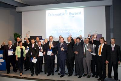 Die Preisträger des Telematik Awards 2010. Bild: Telematik-Markt.de