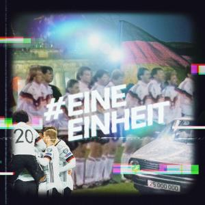 C3 und Volkswagen feiern 30 Jahre deutsche Fußball-Einheit