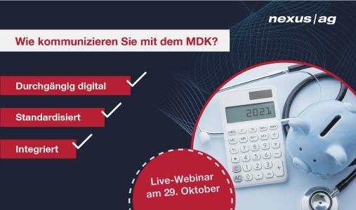 Digitale MDK-Kommunikation via LE-Portal