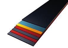 Thanks to the modular system, the heat-resistant conveyor belts can be assembled individually from different components depending on the type of application. Photo: ContiTech