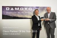 Cisco zeichnet Damovo mit dem Architecture Excellence Collaboration Germany Award 2015 aus