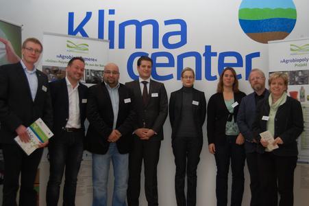 Referenten und Organisatoren: Herr Griesehop (Landkreis Grafschaft Bentheim; Kunststoffnetzwerk Emsachse); Herr Gerritsen  (Bio4Pack), Herr Türkoglu (Bio4Pack), Herr Dr. Brehmer (Evonik Industries AG), Frau  Scholz (Nova-Institut GmbH, Frau Graupner (Hochschule Bremen), Herr Wieland (3N Kompetenzzentrum e. V.) und Frau Dr. Rottmann-Meyer (3N Kompetenzzentrum e. V.)