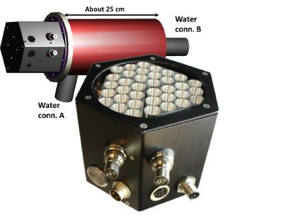 High performance 4W UVC LED module for water disinfection