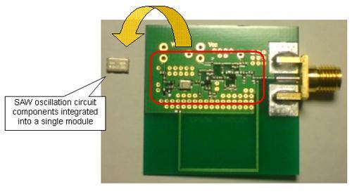 Epson Toyocom entwickelt Übertragungsmodul mit umschaltbaren Ausgangsfrequenzen für den Einsatz in der Nahfeld-Kommunikation