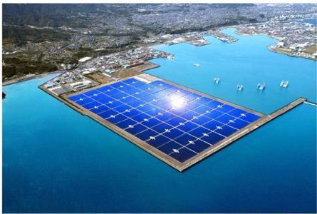 Simulation der fertigen Solaranlage