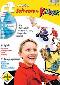 """c't-Ratgeber """"Software für Kinder"""""""