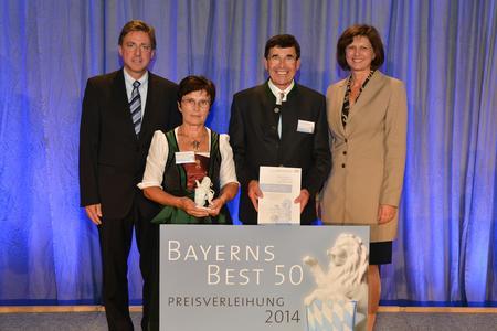 """Sensor-Technik Wiedemann erhält Auszeichnung """"BAYERNS BEST 50"""""""