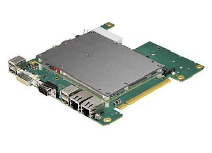 COMKit – The PC unit consists of a carrier board, a COM Express module, internal memory, and a standard cooling interface at the highest point of the system in order to offer an efficient and affordable cooling connection