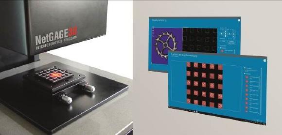 Durch die chargenweise Vermessen von Bauteilen in einem Maga-zin, kann NetGAGE3D erhebliche Zeitvorteile bei der Werkerselbst-prüfung realisieren