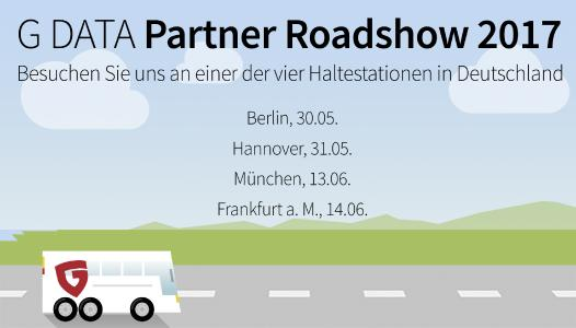 G DATA Partner Roadshow 2017