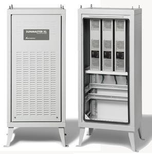 Die neueste Entwicklung von MASTERVOLT ist ein leistungsfähiger und hocheffizienter Solarwechselrichter mit AC Leistungen zwischen 10 und 15 kW. Foto: Mastervolt