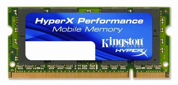 Kingston Technology kündigt als erster Hersteller Ultra-Low-Latency DDR2 Notebook-Speicher an