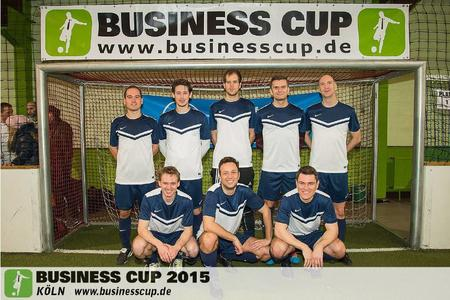 Cintellic beim Business Soccer Cup 2015 in Köln