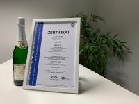 ISO 9001 Zertifikat der INTENSE AG