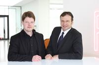 Kari Saikkonen (left) will in future head up the Development, Purchasing and Production division, as well as occupying the post of Deputy Managing Director of Lumikko Technologies Oy. Helmut Meyer is Director of Sales of BITZER's Transport Division and Managing Director of Lumikko Technologies Oy.