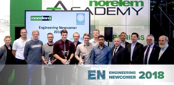 Am 9. Oktober wurden auf der Motek im Rahmen des Engineering Newcomer Wettbewerbs die pfiffigsten Konstruktionsideen mit attraktiven Geldpreisen ausgezeichnet