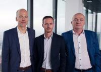 v.l.n.r.: Rainer Kalkbrener, Vorstand ACP, Daniel Rossgatterer, Geschäftsführer TEKAEF, Günter Neubauer, CEO Omega