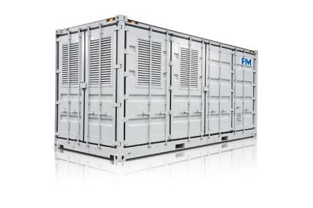 Proton Motor ist Experte für die Projektierung von großen containerbasierten Stromsystemen auf Basis von Wasserstoff-Brennstoffzellen-Stacks
