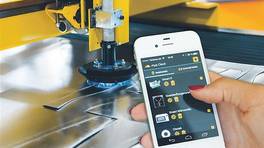 Smart Device Bedienung