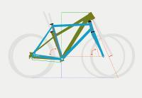 Verständlich erklärt. Moderne Fahrradrahmen Geometrie.
