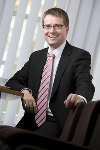 e-Spirit-CEO Jörn Bodemann spricht auf der Internet World UK